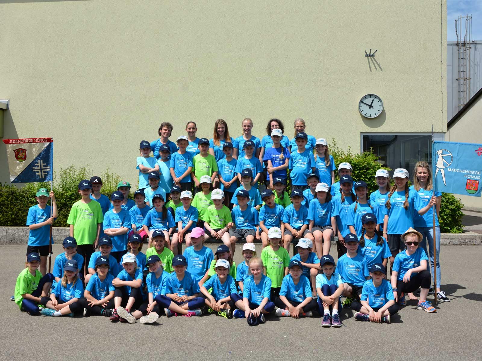 Die Kinder genossen den Jugendsporttag.