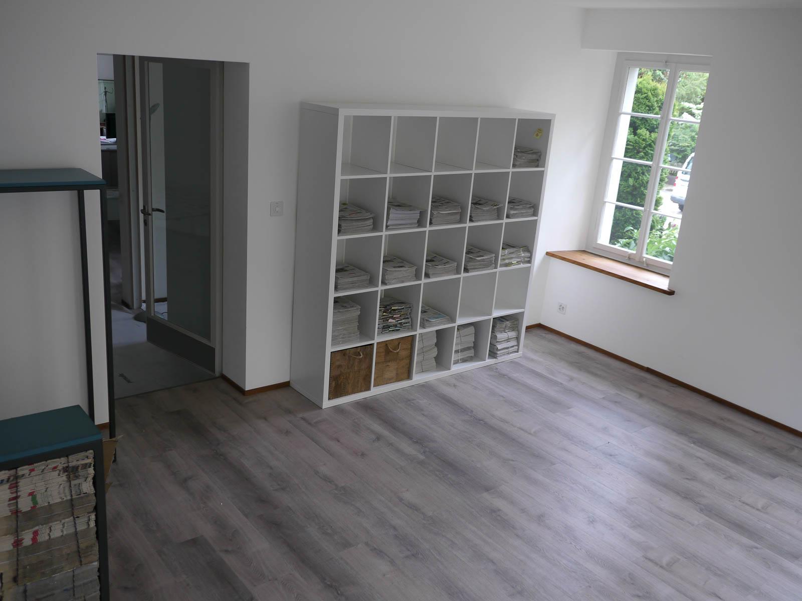 Noch ist es ein fast leerer Raum: Das kommende Info-Zentrum der Höngger Vereine und Institutionen am Meierhofplatz 2.