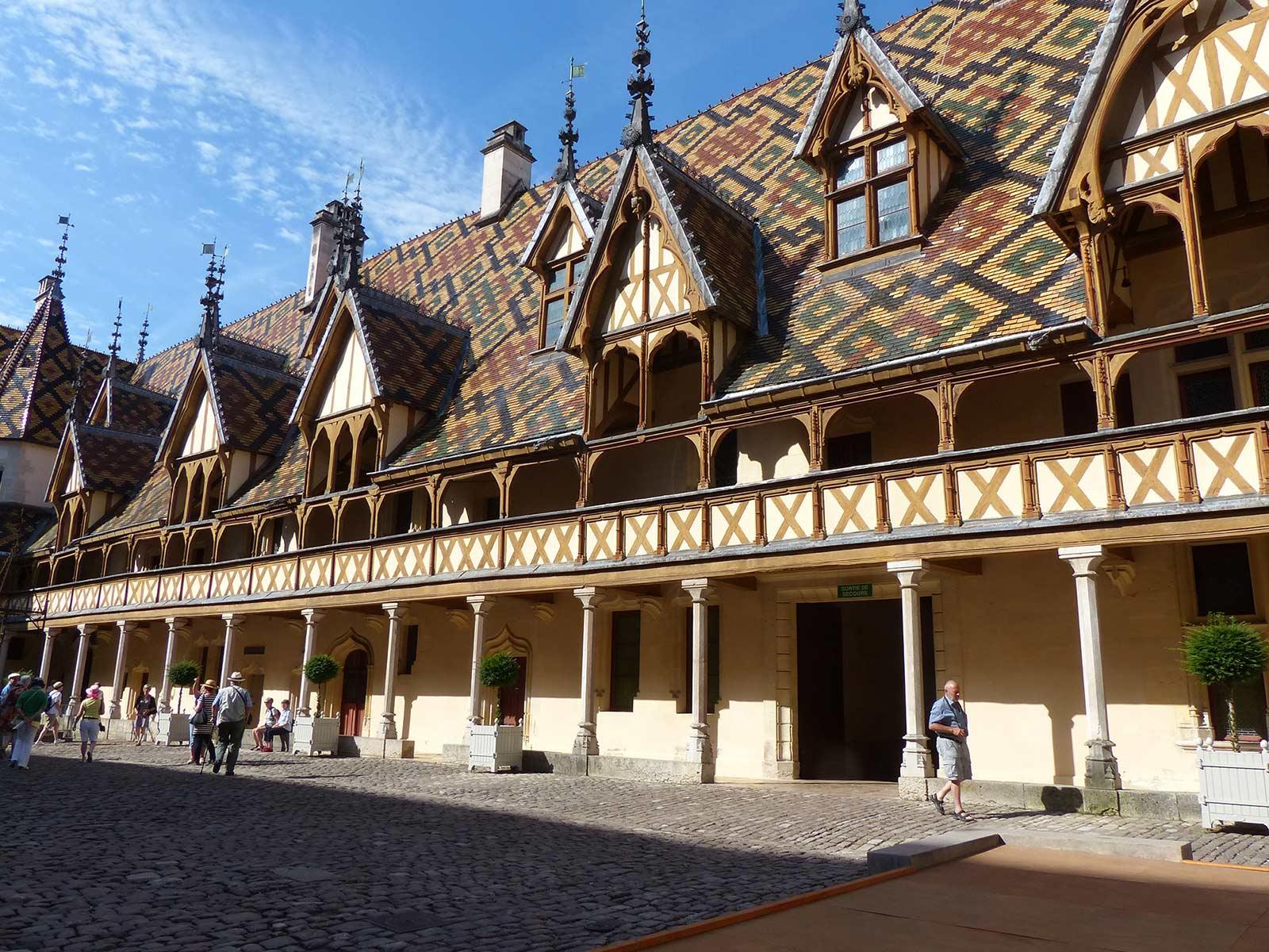 Das Hôtel-Dieu in Beaune.