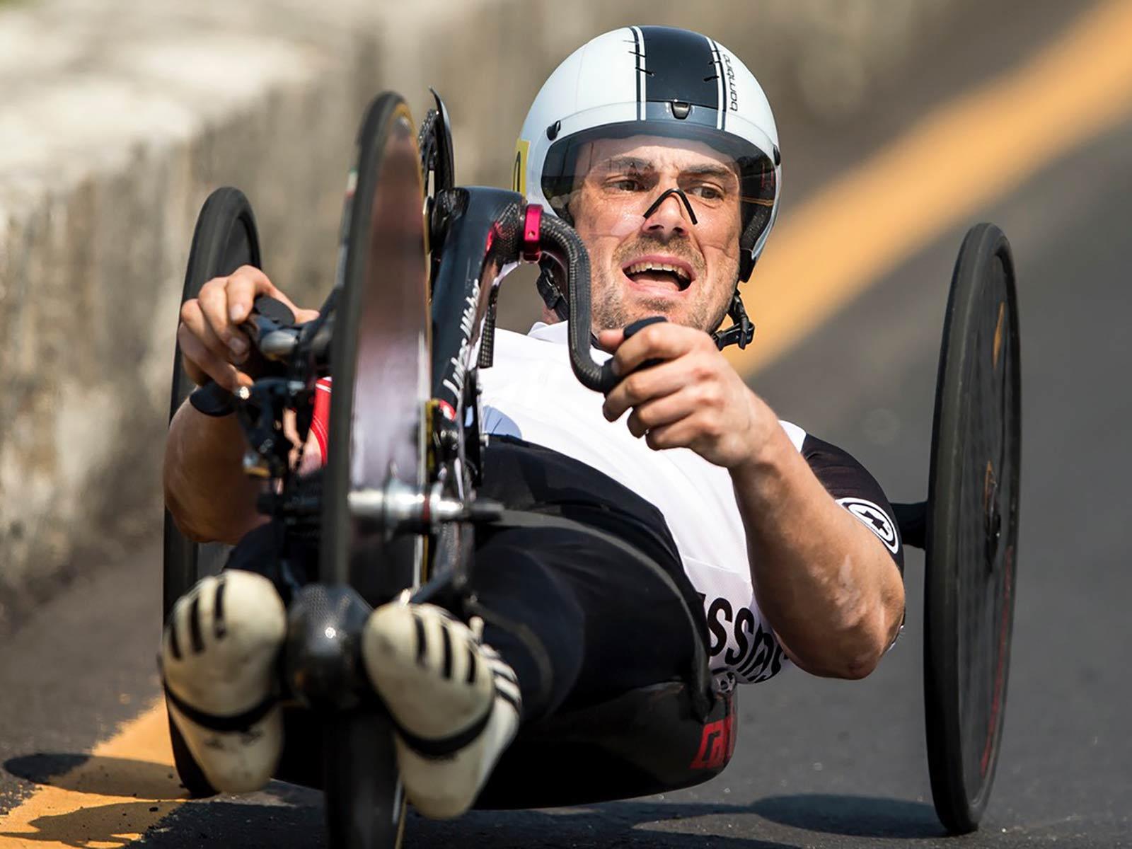 Der Höngger Lukas Weber unterwegs zum sechsten Platz in Rio.