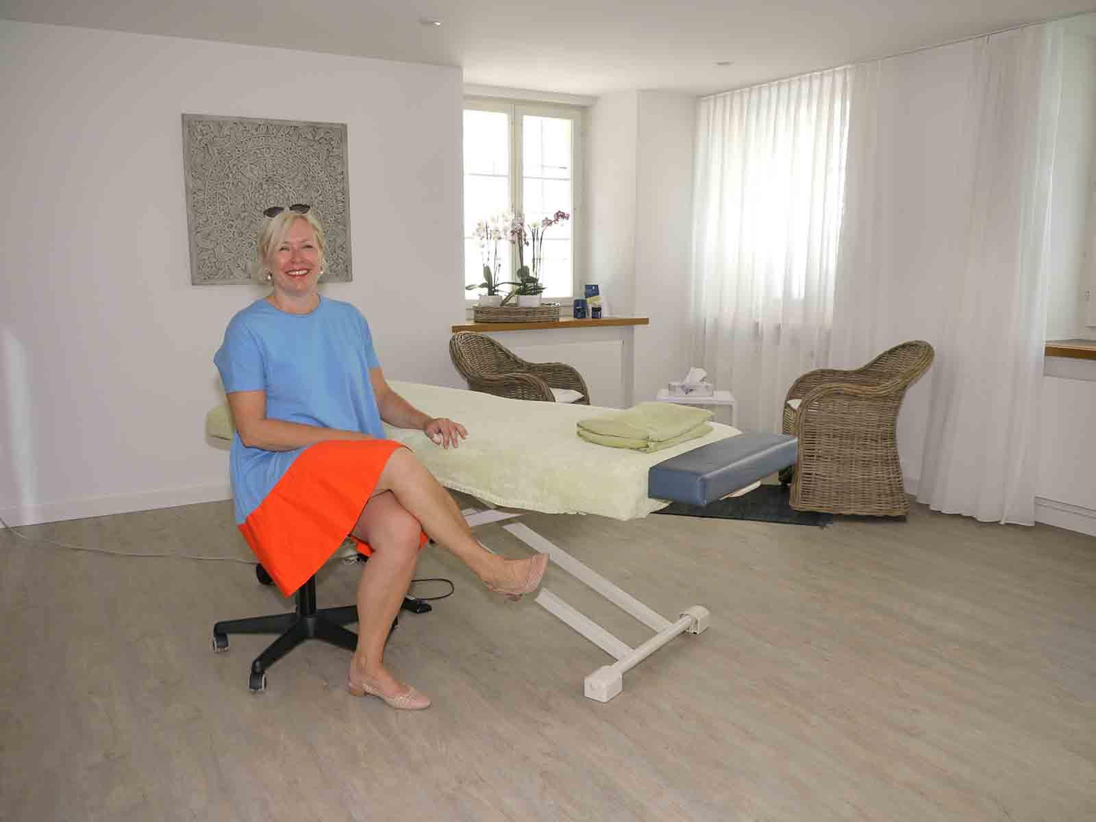 Franziska Kronenberg ist Atemtherapeutin mit Herz und Seele.