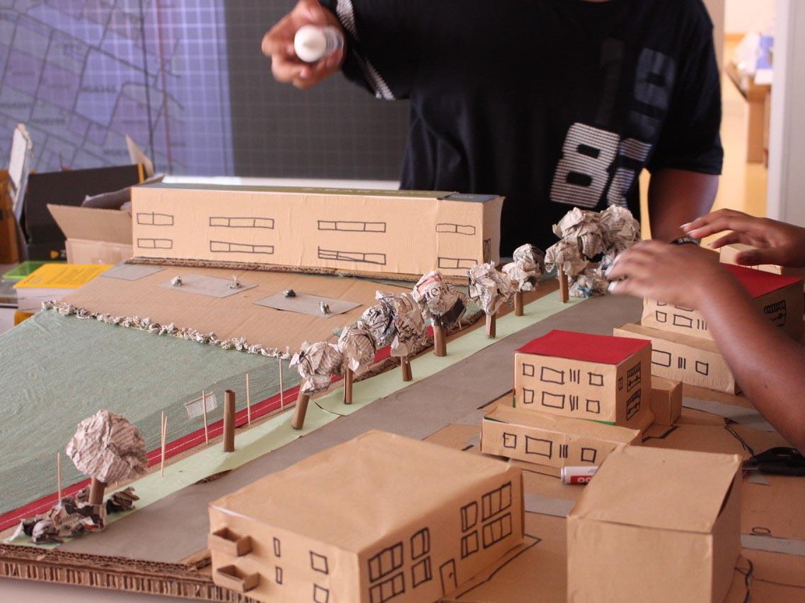 Auch ein Kurs in Modellbau wurde in der Projektwoche angeboten.