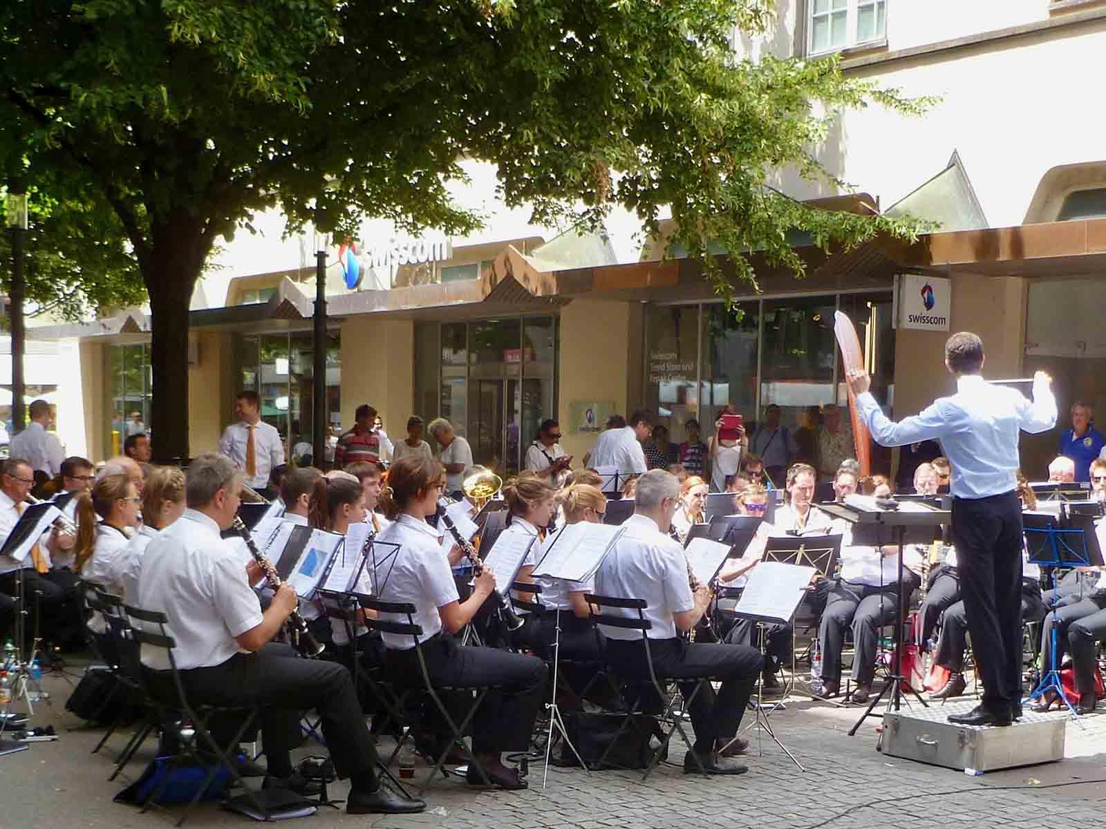 Sommerkonzerte des Musikvereins Höngg