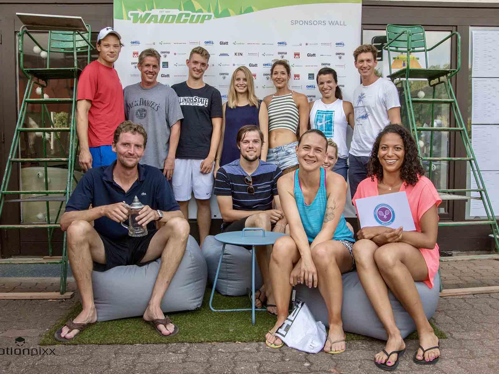 Das Zentrum für funktionelle Medizin Functiomed unterstützt die Spieler*innen des Tennisturniers Waidcup im TC Waidberg.