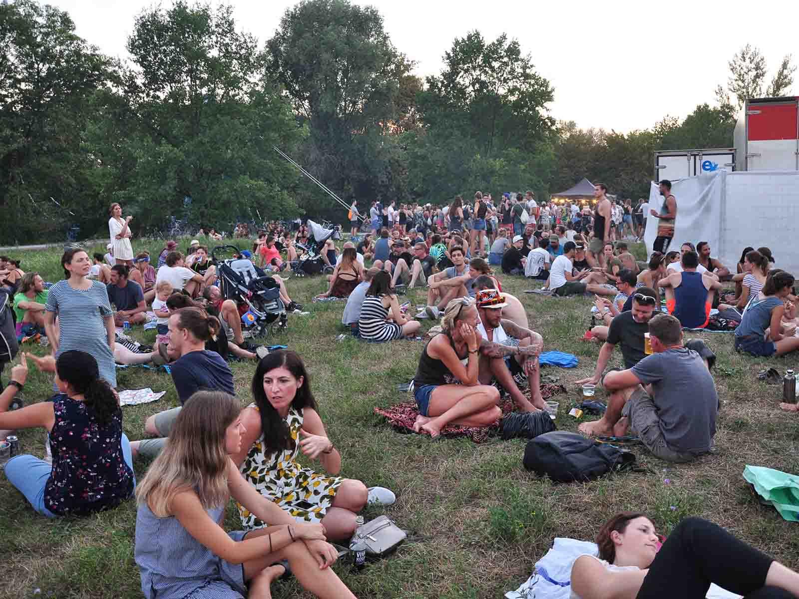 Über 9000 Gäste besuchten das diesjährige Werdinsel Openair – ein neuer Rekord.