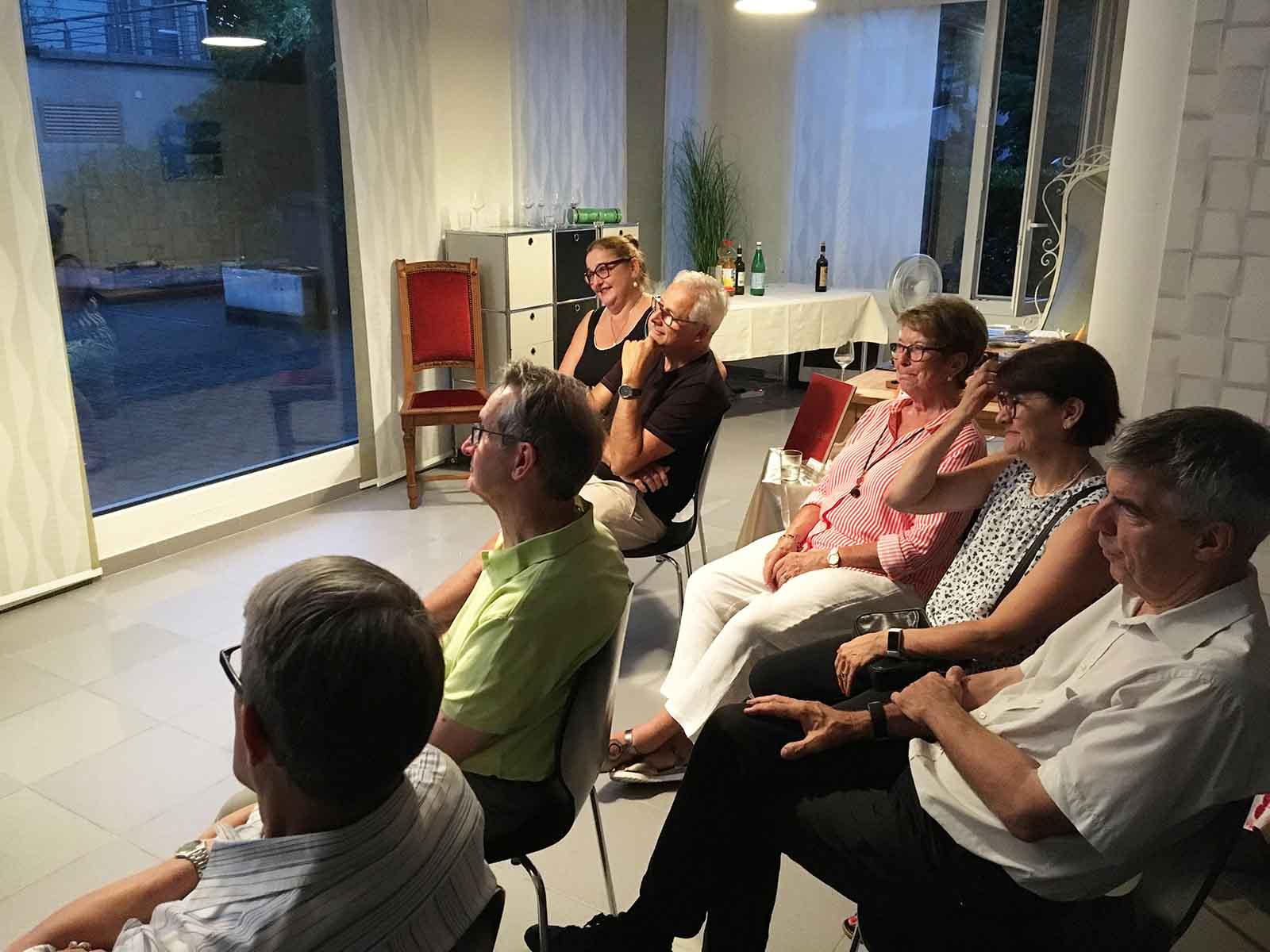 Sibylle Baumanns Erzählungen entführen die Zuhörer*innen in ferne Welten und Zeiten.