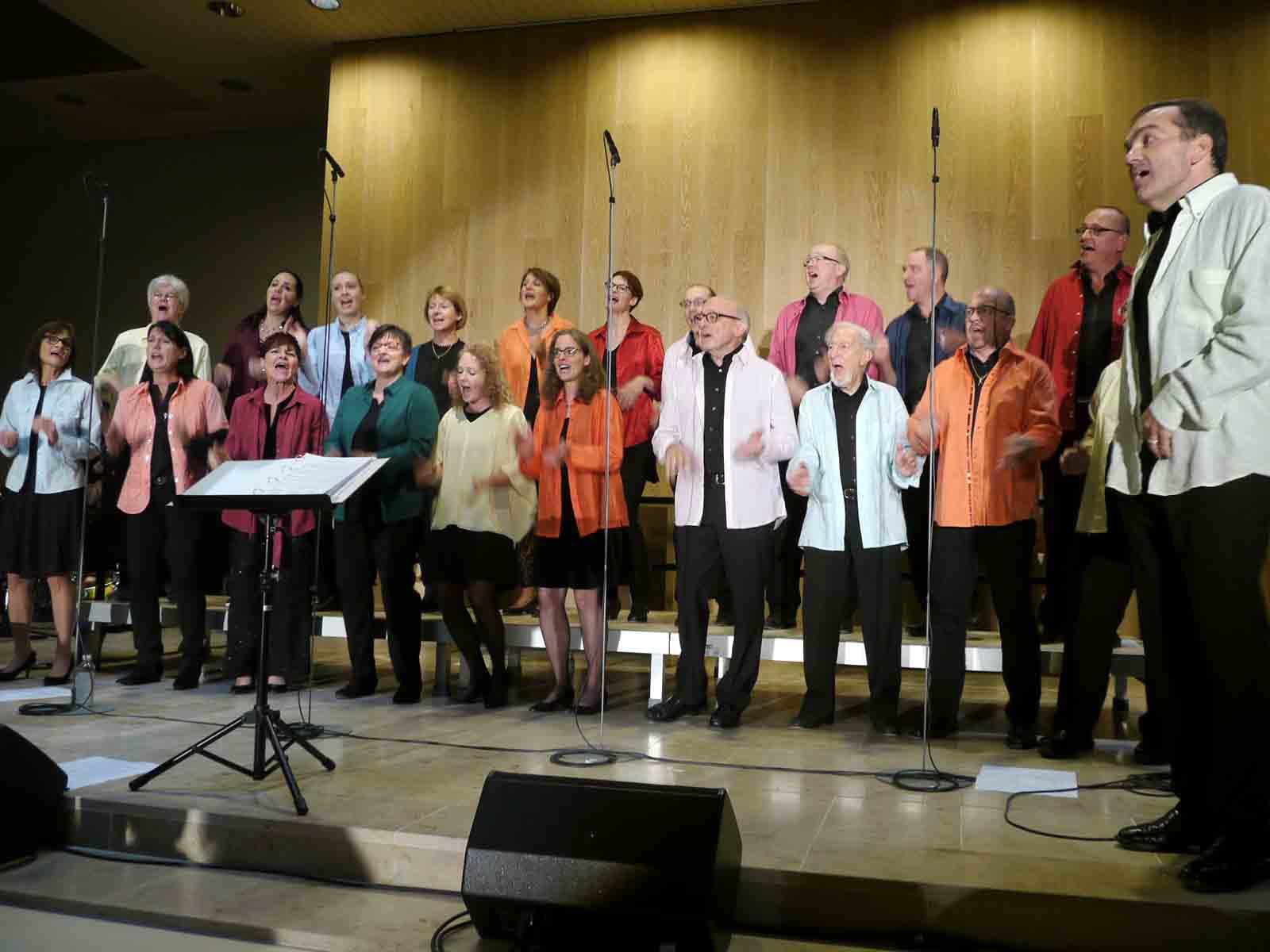 Energiegeladen und immer in Bewegung – die gospelsingers.ch an ihrem 25-Jahre-Jubiläum.
