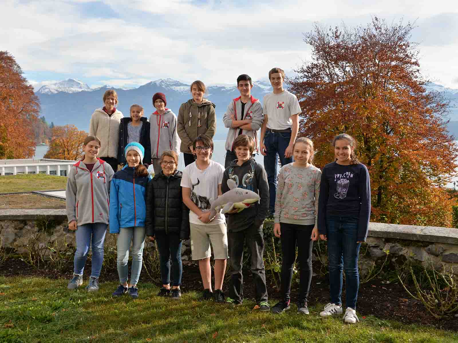 Die SLRG reiste zum Wettkampf nach Oberhofen am Thunersee.