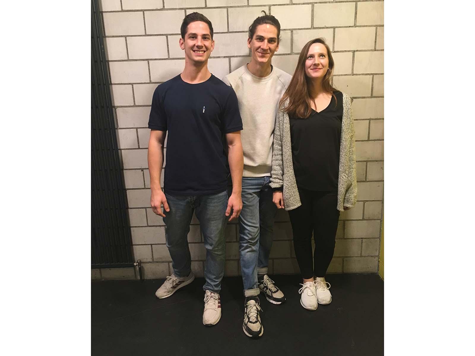 Die neue Kulturkeller-Crew: David Nüesch, Alex Nüesch, Jana Högger.