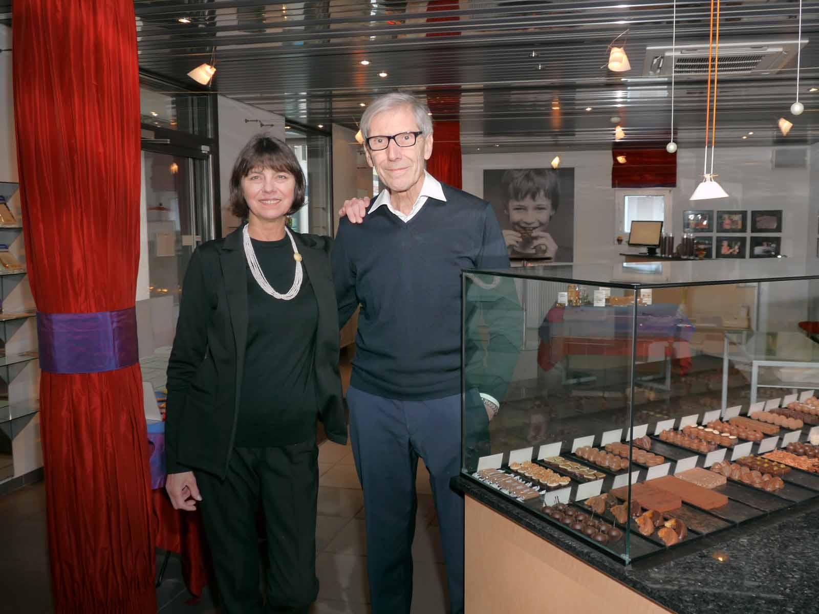 Bis Ende Mai gibt es bei Judith Balogh und Peter Kümmin im «Schoggi-König» noch edle Schokolade. Dann ist nach 25 Jahren Schluss.