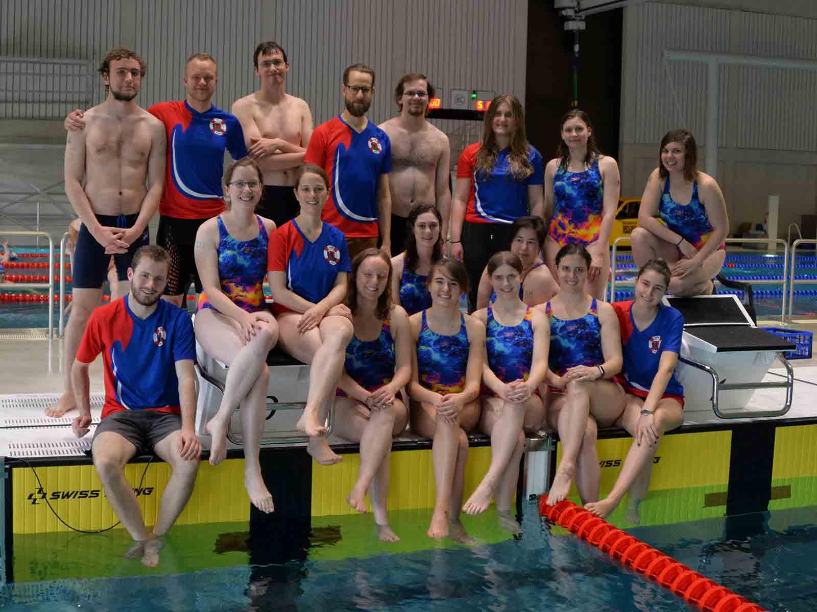 Drei Teams der Höngger Wettkampfgruppe waren am Sonntag am Start.