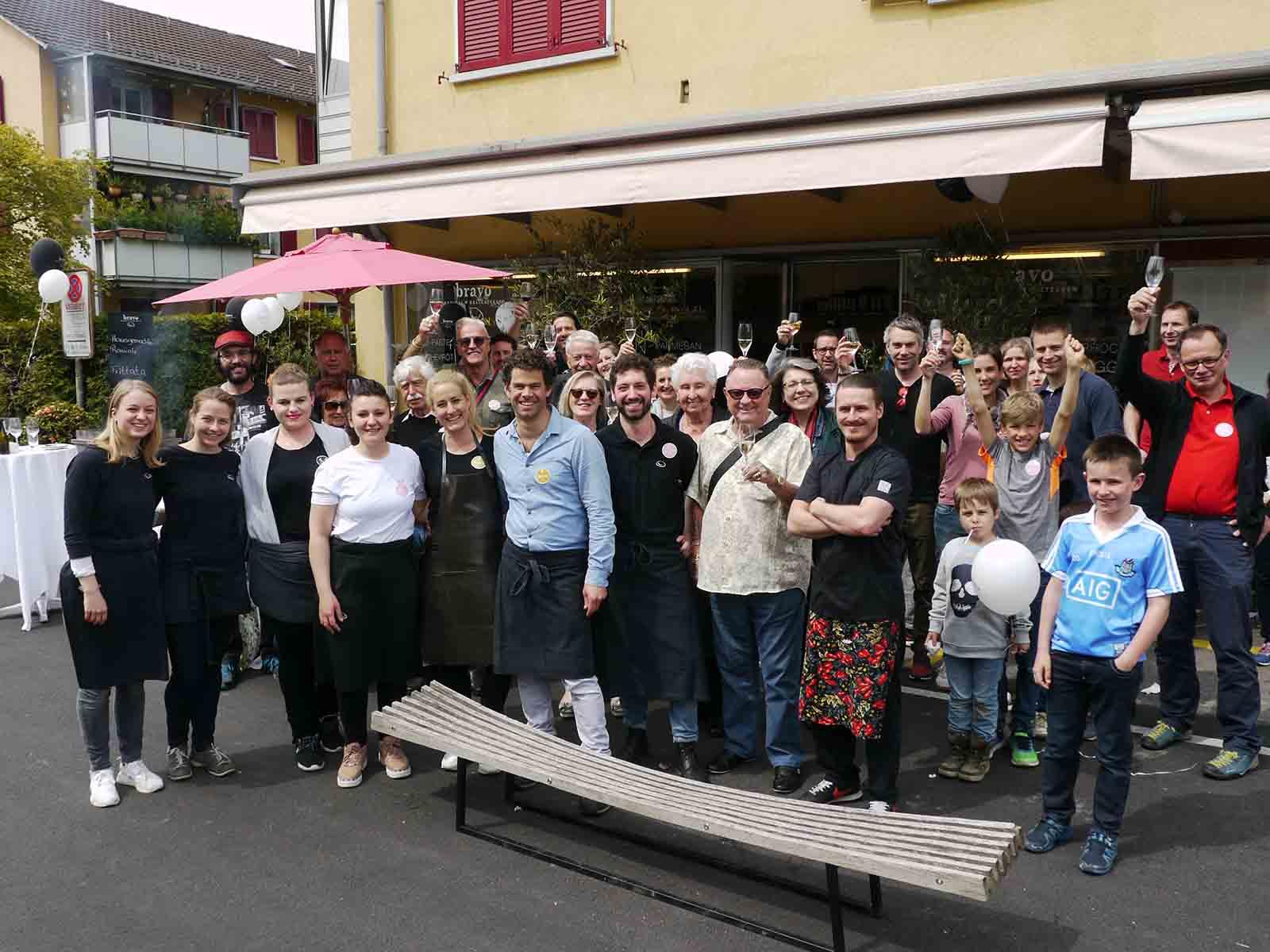 Die zehn Jahre «Bravo Ravioli» wurden gefeiert.