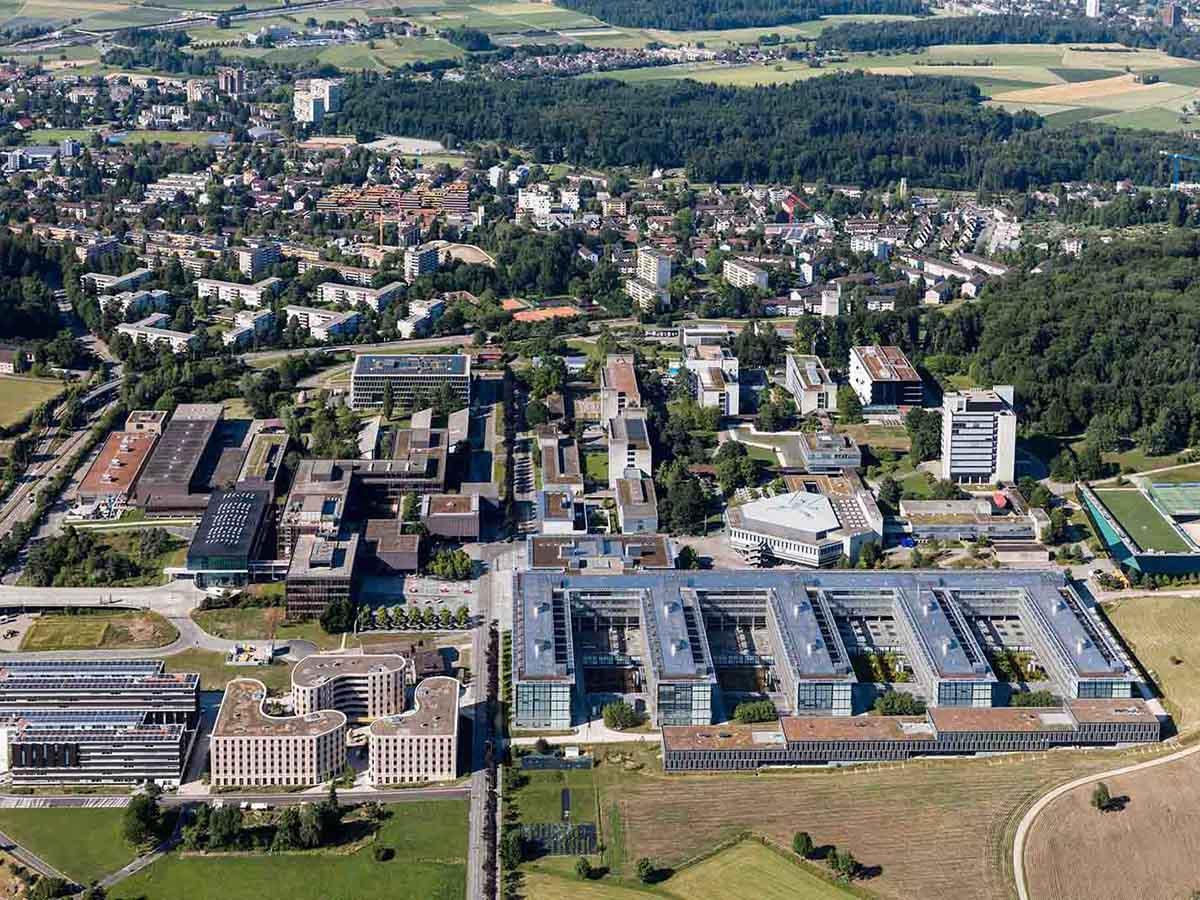 Flitzen 2020 Formel E Boliden um den Campus der ETH Hönggerberg?