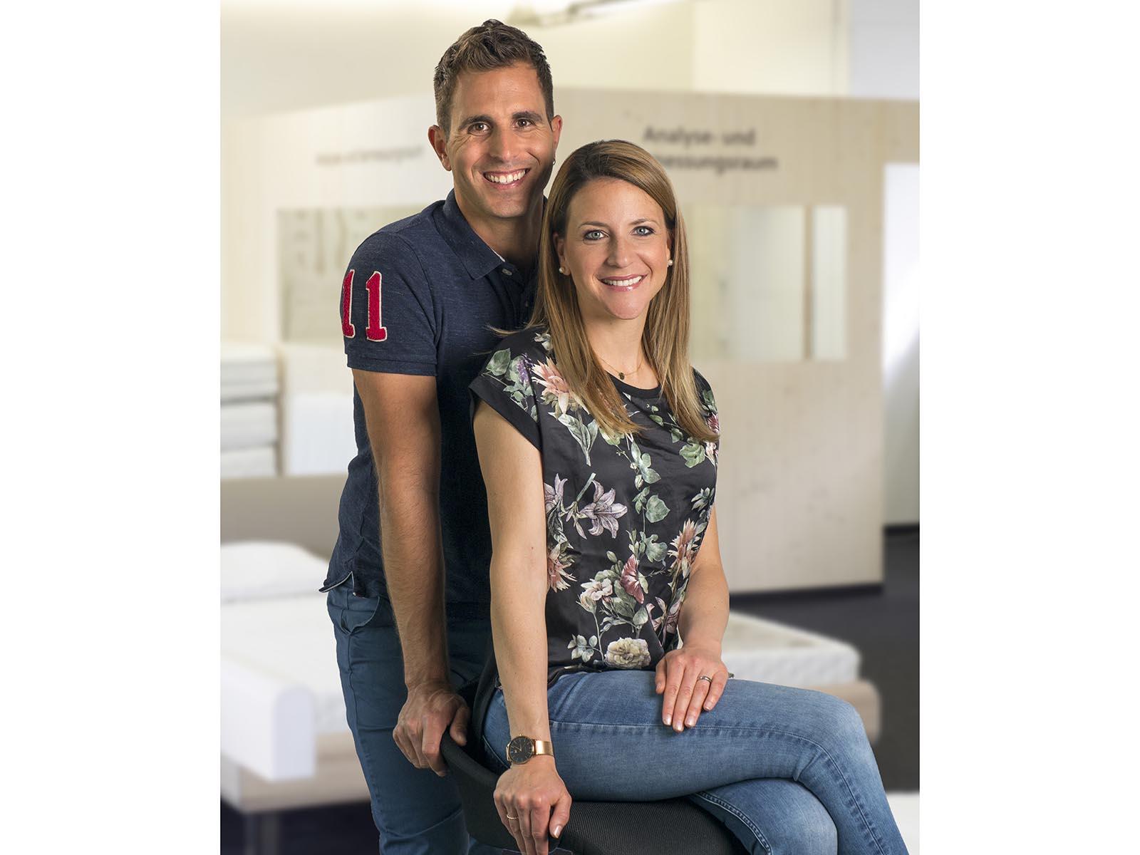 Daniela und Daniel Zimmermann, Creativa Schlafcenter AG