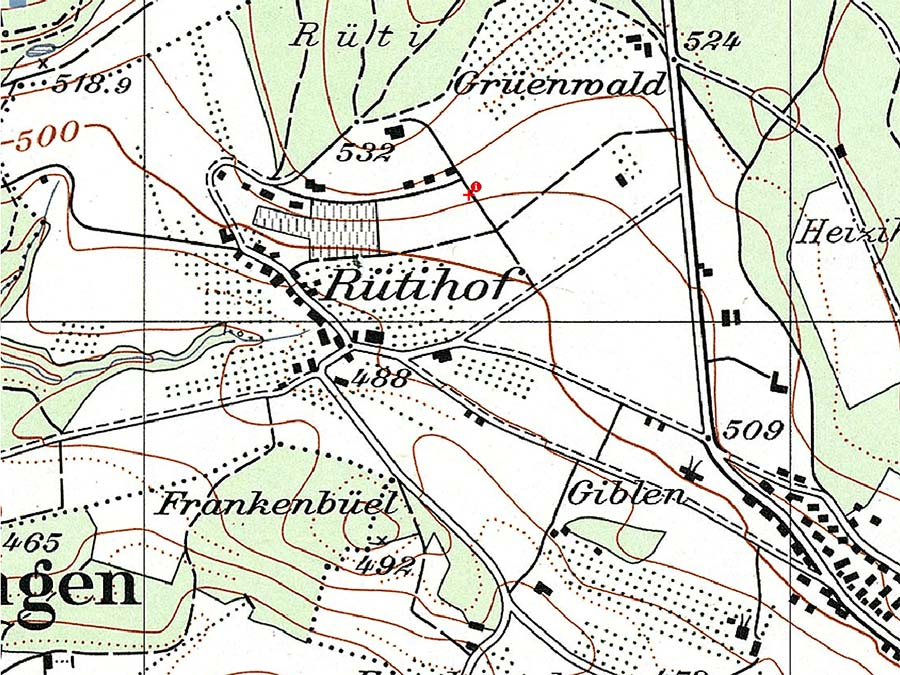 Alte Landkarte 1956-1965