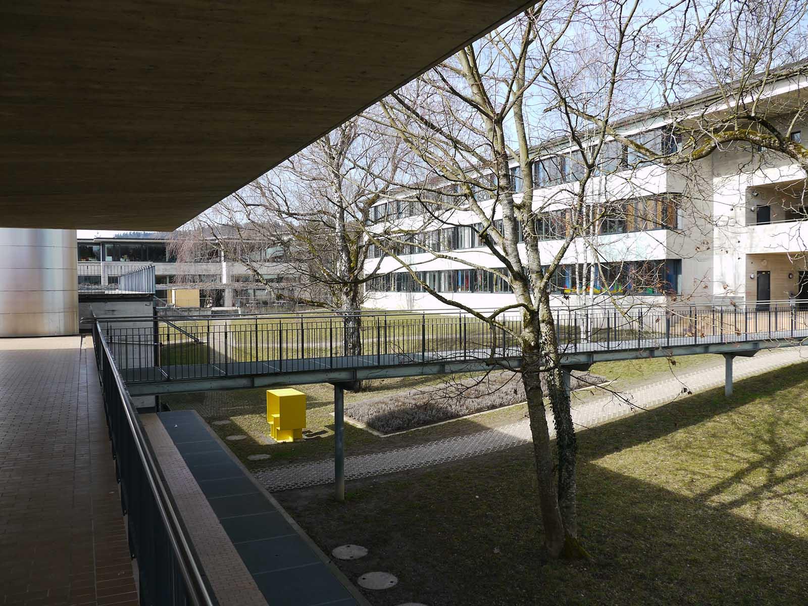 Das Schulhaus Rütihof verfügt noch über genügend Kapazität für die kommenden Jahre.