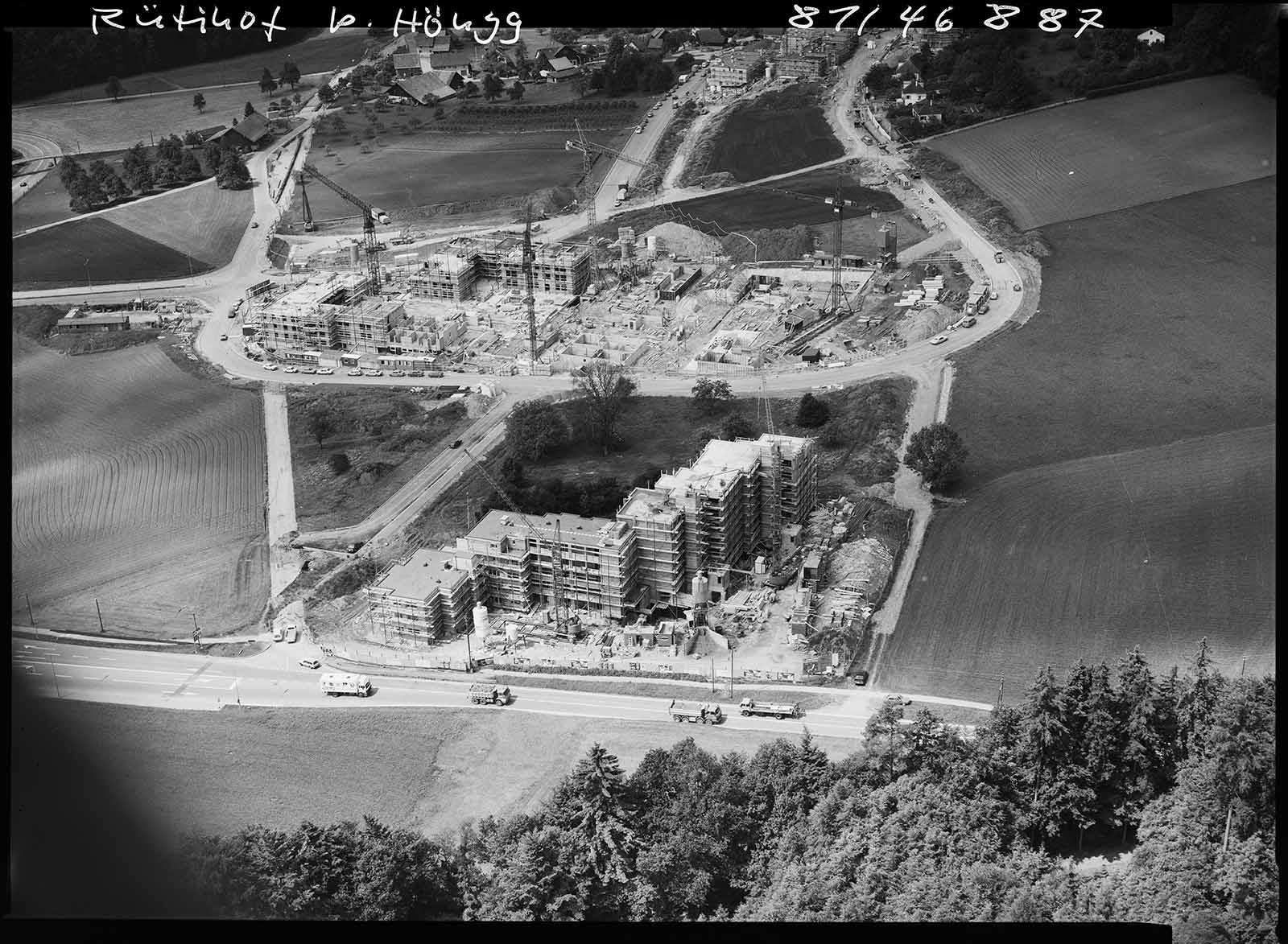 Luftaufnahme von 1981.
