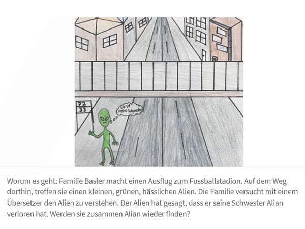 Auf dem Bild ist der Einstieg eines «Actionbounds» zu sehen. Danach geht das grosse Rätsel in der Stadt Zürich los.