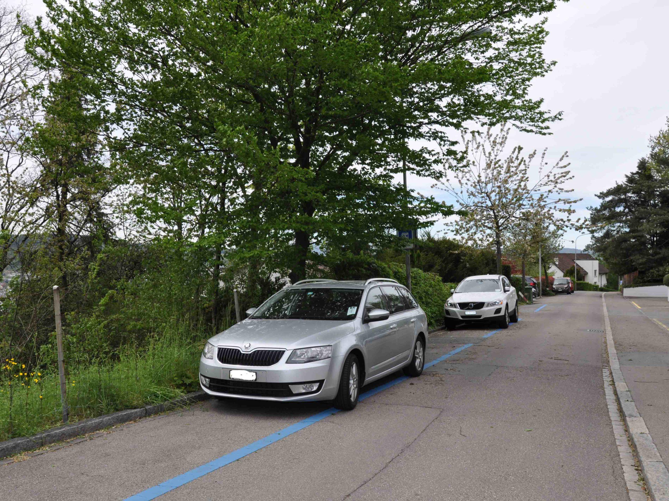 Diesen Parkplätzen wäre es beinahe an den Kragen gegangen.