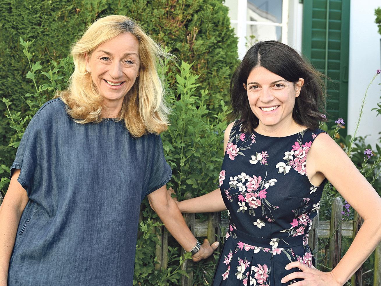 Die Geschäftsleitung des Hönggers: Eva Rempfler und Patricia Senn