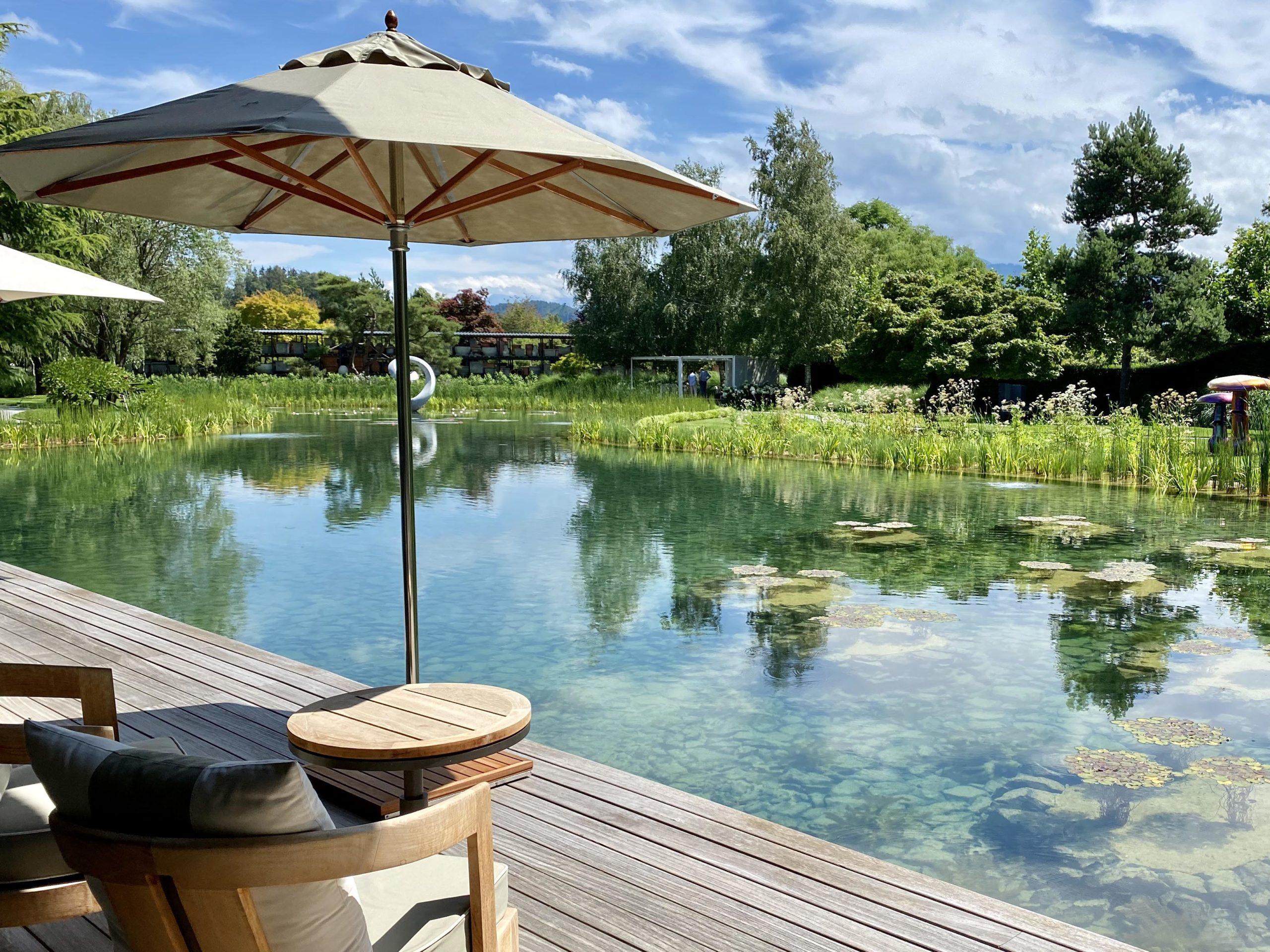 Enea-Garten in Rapperswil-Jona