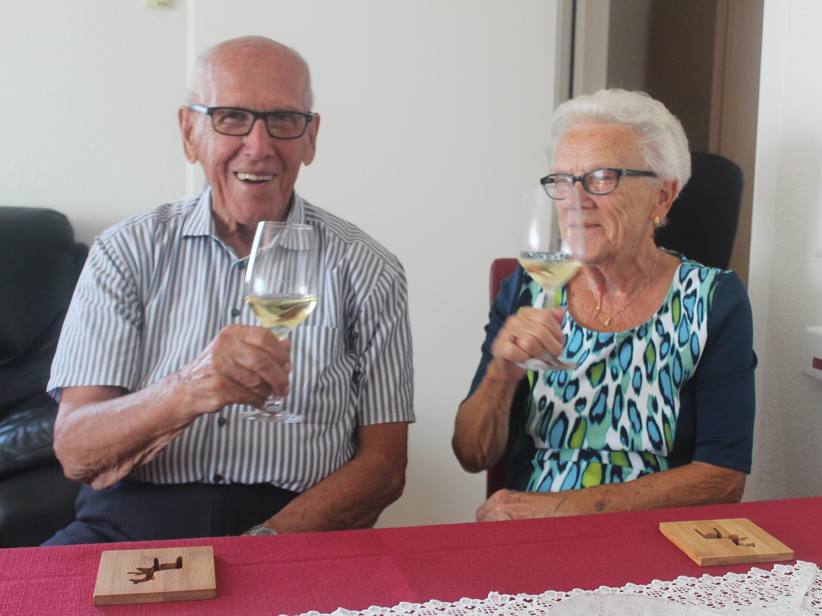 Paul und Margrit Kühne wissen das Leben zu geniessen