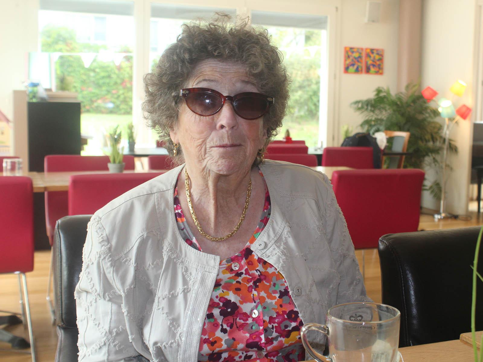 Cornelia Zumsteg ist immer aktiv und unterwegs – und am liebsten in Gesellschaft.
