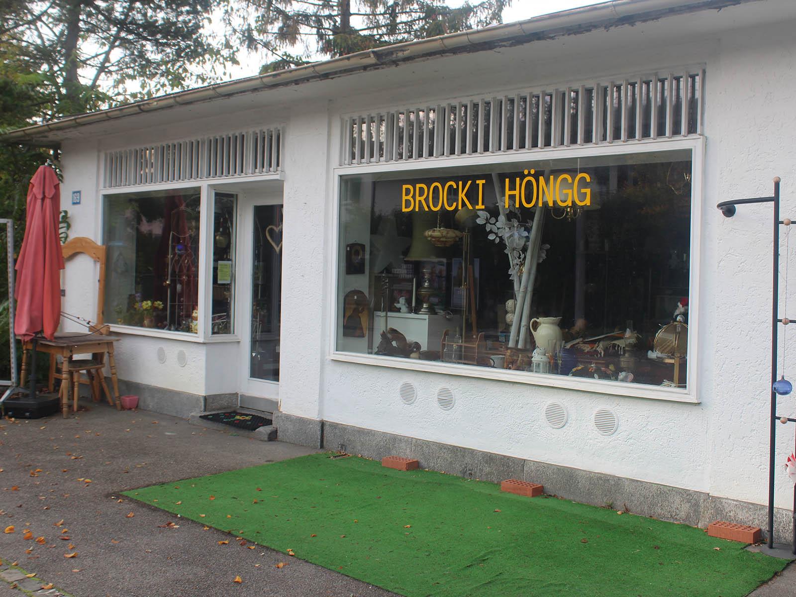 Das Gebäude wird durch ein Mehrfamilienhaus ersetzt - das Brocki sucht einen neuen Standort.