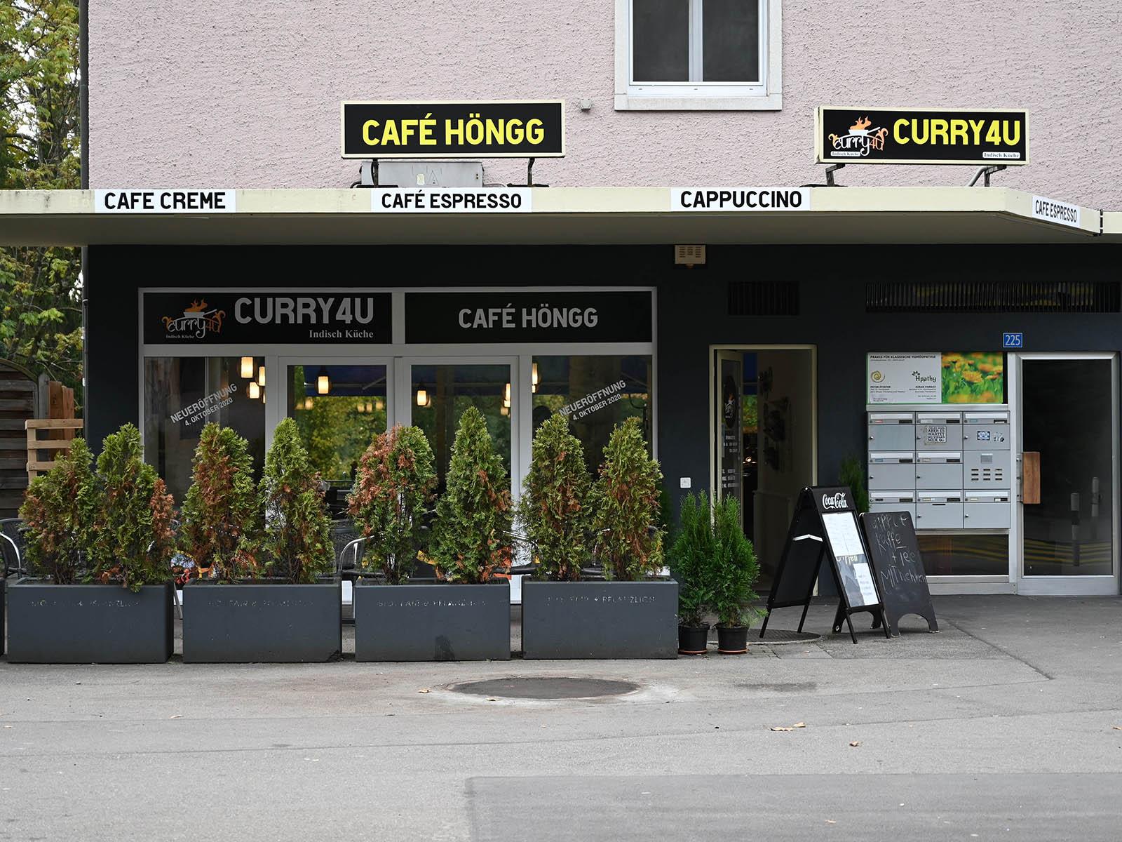 Im Café Höngg wird neuerdings Curry serviert.
