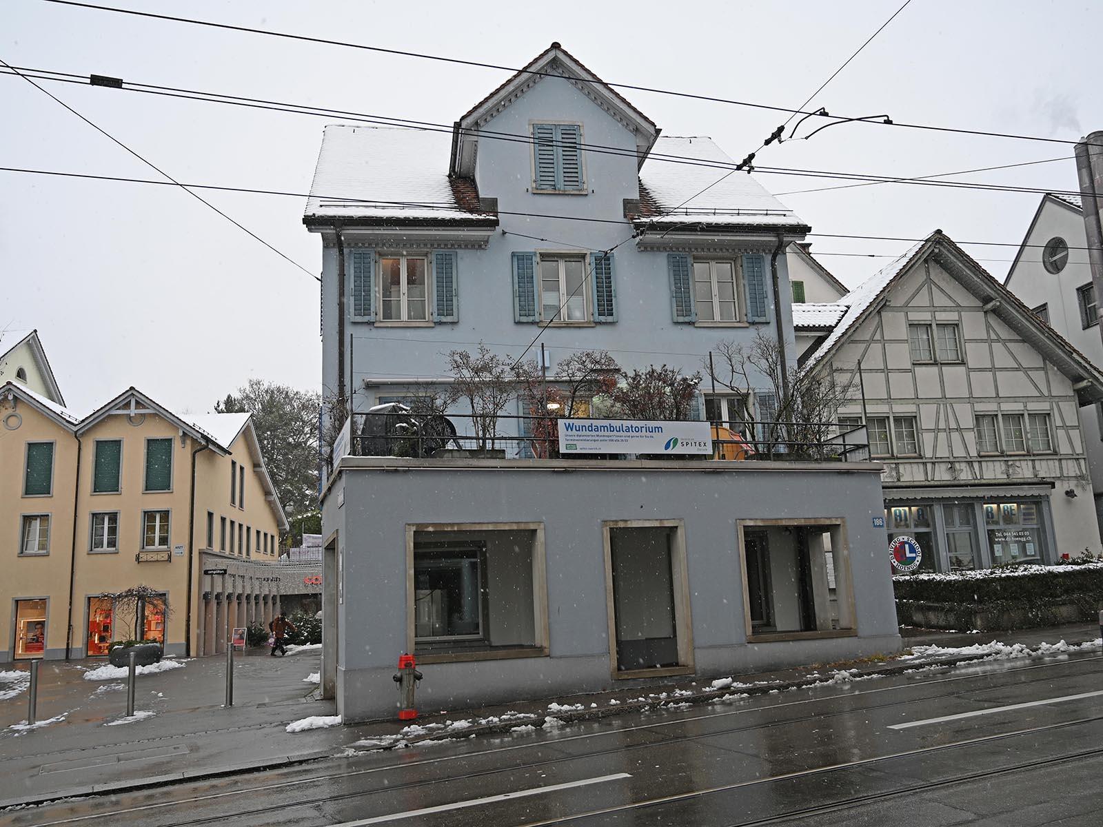 Die Überbauung Hönggermarkt wurde verkauft.