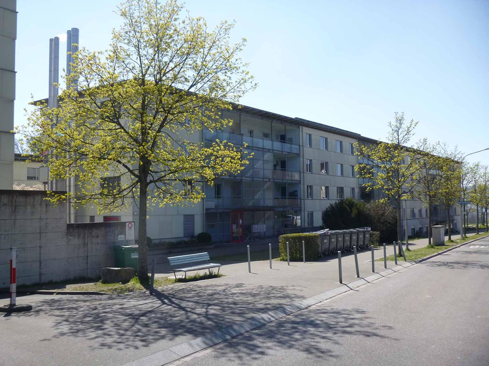 In diesem Haus in Rütihof ereignete sich vor zehn Jahren ein schrecklicher Mord.