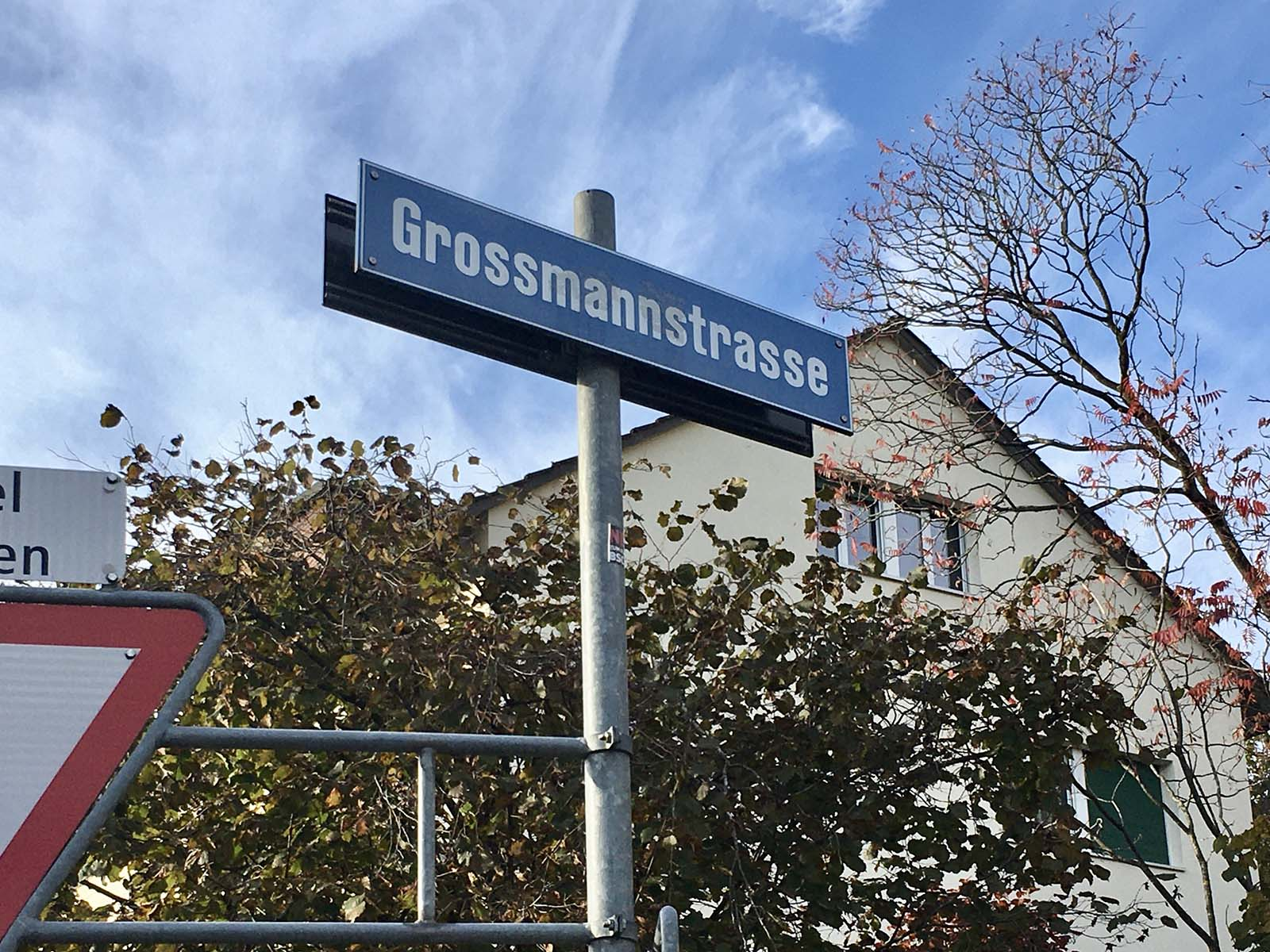 Die Spuren der Familie Grossmann lassen sich bis ins 14. Jahrhundert zurückverfolgen.