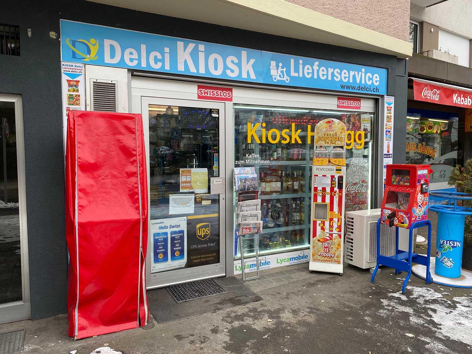 Für ein paar hundert Franken überfiel der Täter den Kiosk am Zwielplatz mit einer Handfeuerwaffe.