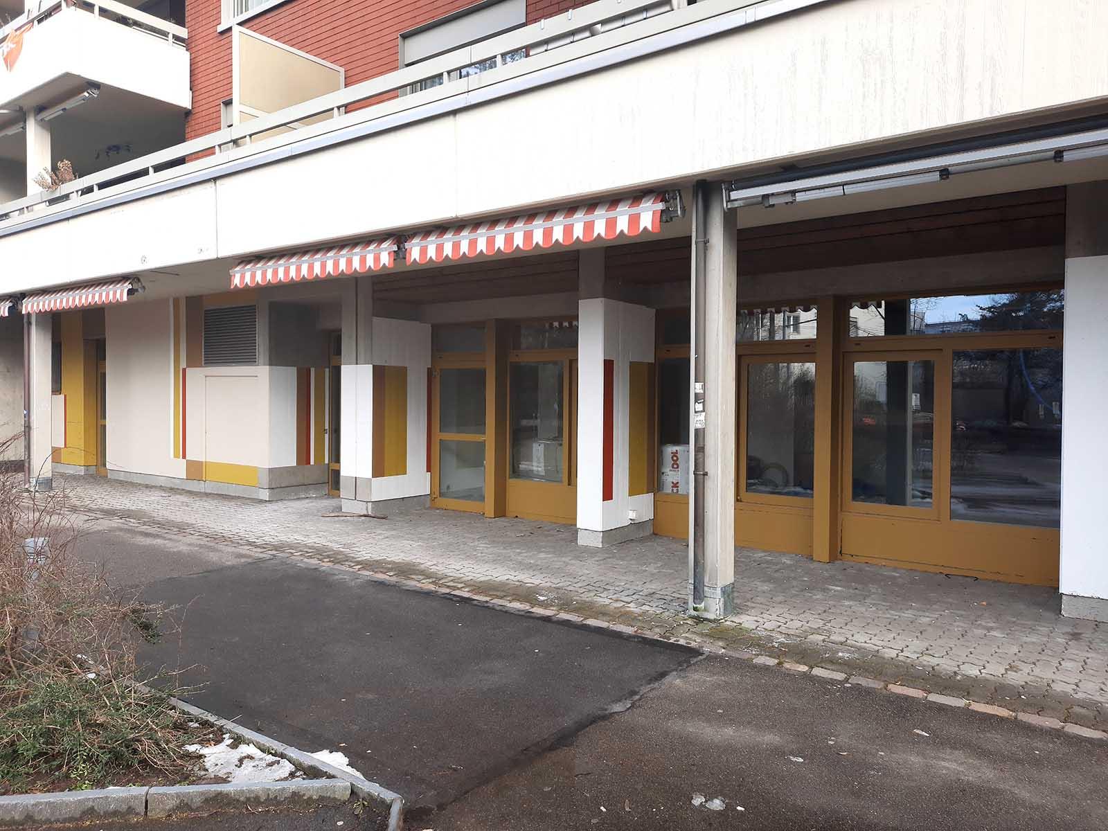 So kahl und unbelebt wird das ehemalige Restaurant Rütihof nicht mehr lange aussehen – im Sommer wird hier ein Hort einziehen.