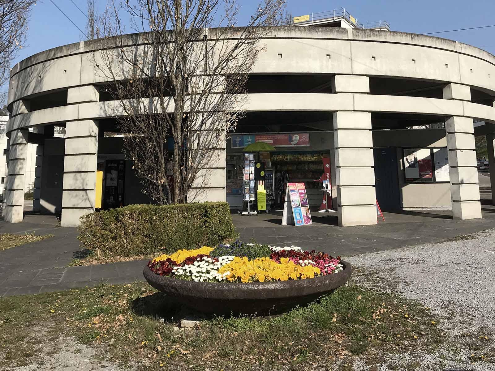 Wieder offen: Der Kiosk an der Endhaltestelle Frankental bekam die Auswirkungen der Corona-Massnahmen zu spüren.
