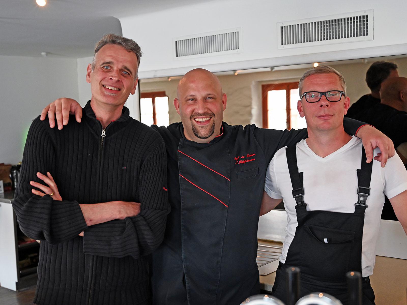 """Die neuen Pächter des Restaurants 13/80 in der ehemaligen """"Mülihalde"""" freuen sich auf die Eröffnung Mitte Juni."""