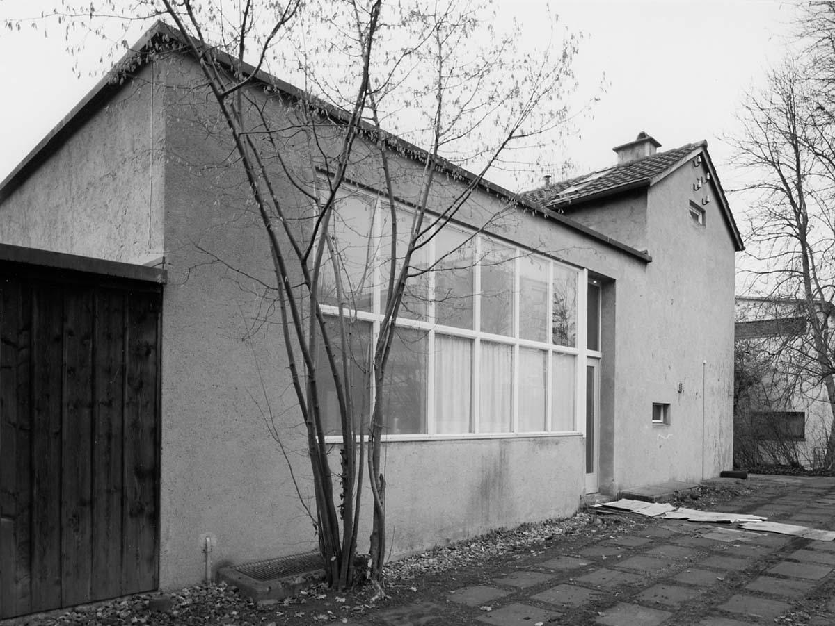 Architekt Hans Leuzinger baute für Ernst und Sasha Morgenthaler ein Wohnhaus mit Atelier nach den Grundsätzen des «Neuen Bauens».